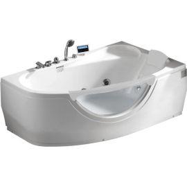 Гидромассажная ванна Gemy G9046 K R правосторонняя с мультимедиа.