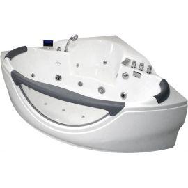 Gemy G9025 II K акриловая гидромассажная ванна с прозрачным окном.