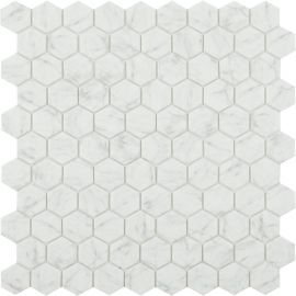 Мозаика Hexagon Marbles 4300 Antid серого цвета