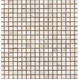 Мозаика MwP 15x15 мм из натурального мрамора Wild Stone