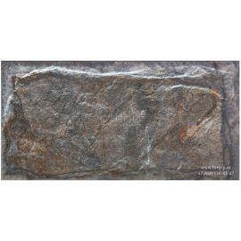Фасадная плитка под камень SilverFox Anes 150x300 мм, цвет 415 pizarra серо-коричневый