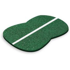Зеленое бесшовное резиновое покрытие 15 мм для улицы
