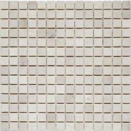 Мозаика Crema Marfil Matt (JMST027) 20x20 мм из мрамора