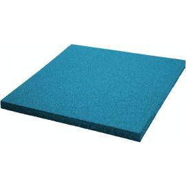 Плитка из резиновой крошки 500х500х16 Comfort голубая
