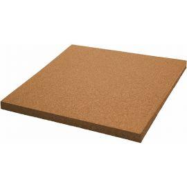Оранжевая плитка из резиновой крошки 50х50х1.6 см Comfort