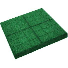 Тротуарная плитка из резиновой крошки - плитка толщиной 30 мм.