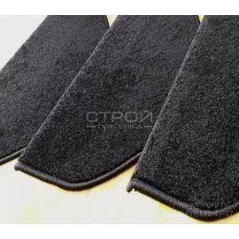 Ворсовые коврики на ступеньки лестниц Ялта — Черный