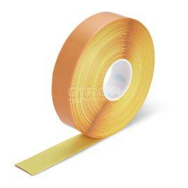 Желтый элемент фотолюминесцентной эвакуационной системы Heskins для маркировки проходов.