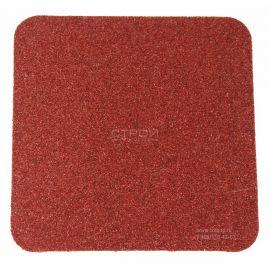 Коричневый квадрат противоскользящий 10х10 см Heskins