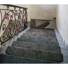 Коврики на липучках Граффит на лестнице.