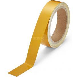 Желтая светоотражающая разметочная лента Heskins