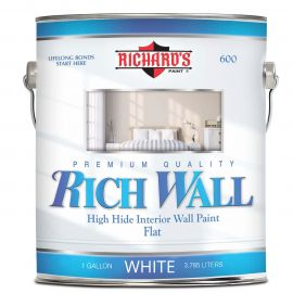 Акриловая краска для внутренних работ Rich Wall 600