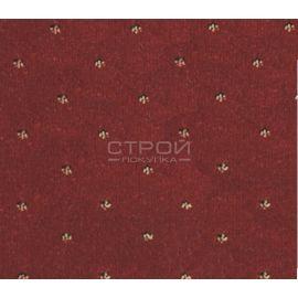 Фактура бордовых ковровых накладок Барс на ступеньки.
