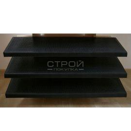 Резиновая накладка проступь на ступени Классик вид спереди.
