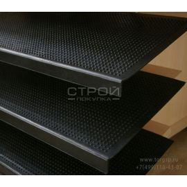 Резиновая накладка проступь а ступени Класси на ступенях. 25х75 см. Коврик на ступеньку ГПФ 25 (Сорт 1) 25*75
