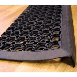 Накладка на ступени Ячеистая с бордюром 25x75 см