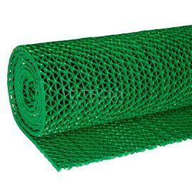 Зеленая грязезащитная ковровая дорожка Зиг-Заг в рулоне