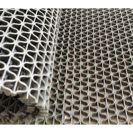 Мелкоячеистое рулонное покрытие Зиг-Заг серый