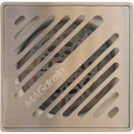 Трап сантехнический Magdrain PFC30Q50-B - вид сверху на решетку.
