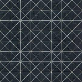 Albion Dark Blue (TR2-BLM-P2) матовая керамическая мозаика Starmosaic темно-синего цвета
