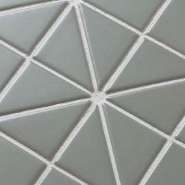 Albion Olive (TR2-CH-P1) матовая керамическая мозаика Starmosaic оливкового цвета