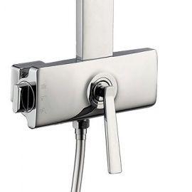 Душевая система Timo Halti SX-4190/00 для ванной с прямоугольной лейкой в стиле модерн