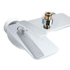 Излив Helmi SX-1070/00-16 хром-белый для ванной