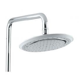Верхний душ Timo Helmi SX-1070/00-16 (412) хром-белый для ванной с круглой лейкой
