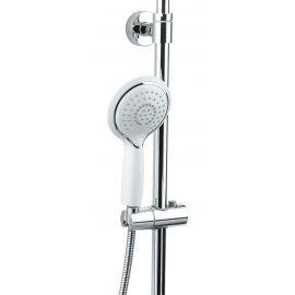 Ручной душTimo Helmi SX-1070/00-16 (412) хром-белый для ванной с круглой лейкой