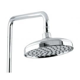 Верхний душ  Helmi SX-1070/00-16 (712) хром-белый для ванной с круглой лейкой