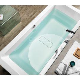 Ванна Alpen Marlene - акриловая ванна с широкой и глубокой чашей вид сверху.