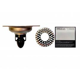 Упаковкап трапа для душа MagDrain PC 04 Q50-B с вводом для стиральной машинки и магнитный клапан.