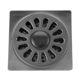 Трап для душа MagDrain PC 04 Q50-B с вводом для стиральной машинки - вид сверху.