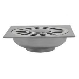 Трап для душа MagDrain PC 04 Q50-B с вводом для стиральной машинки - вид сбоку.