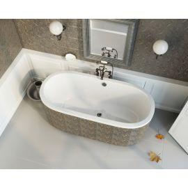 Акриловая овальная отдельностоящая ванна Astra O 165x75 производства Alpen.
