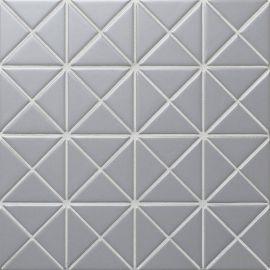 Albion Grey (TR2-MG) матовая керамическая мозаика Starmosaic серого цвета.