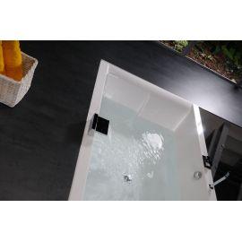 Прямоугольная ванна для двоих Dupla 180х120 Alpen в комнате.