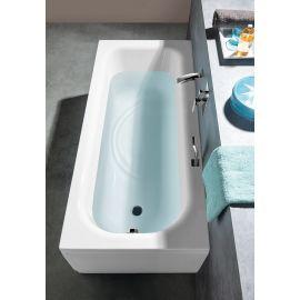 Интерьер ванной комнаты и ванна Laura 160х70 от Alpen.