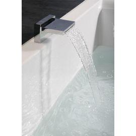 Прямоугольная ванна для двоих Dupla 180х120 Alpen с встроенным краном-водопад.