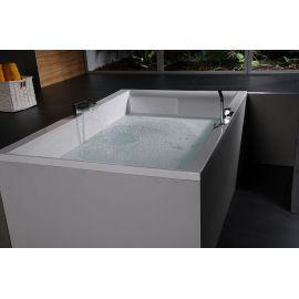 Прямоугольная ванна для двоих Dupla 180х120 Alpen.