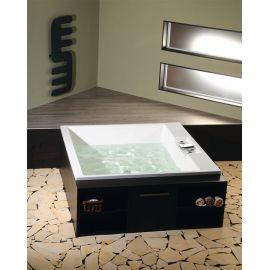 Большая ванна для двоих  Came 175х175 Alpen прямоугольная и отдельностоящая.