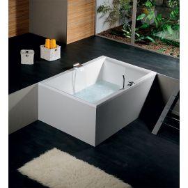 Прямоугольная ванна для двоих Dupla 180х120 Alpen в магазине СтройПокупка.