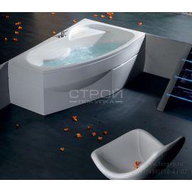 Акриловая ванна Mamba Alpen 160x95 R  вид сбоку.