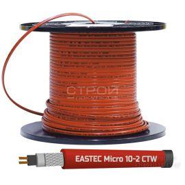EASTEC Micro 10 CTW, SRL 10-2 CR - корейский саморегулирующийся пищевой греющий кабель для обогрева труб - СтройПокупка