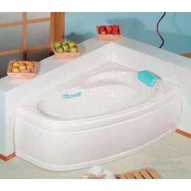 Асимметричная ванна Alpen Naos 150x100 см и 180х100 см.
