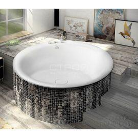 Акриловая круглая акриловая ванна Oblo 165 Alpen