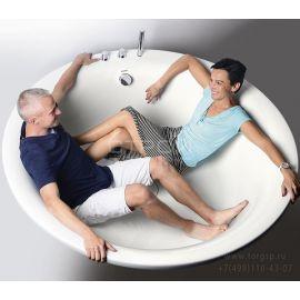 Круглая акриловая ванна Oblo 165 Alpen - тройПокупка