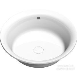 Круглая акриловая ванна Oblo 165 Alpen