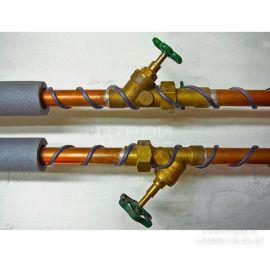 Экранированный греющий кабель SRL 16-2CR для водостоков и труб - СтройПокупка