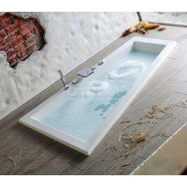 Ванна разносторонняя акриловая Triangl 180x120 см встроенная в каркас.
